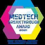 Greenphire Recognized for Patient Engagement Innovation in 2021 MedTech Breakthrough Awards Program