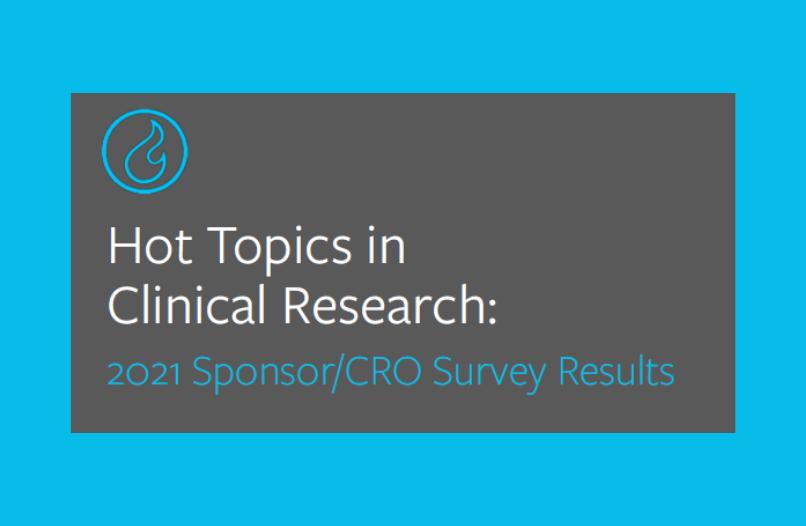 2021 Sponsor/CRO Survey Results